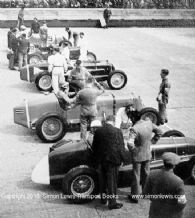 MASERATI 4CL , 8CM, Alfa Romeo P3 etc.Photo.  Brooklands International Trophy 1939